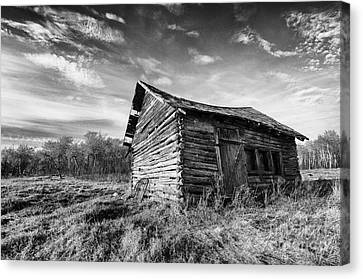 Abandoned House Canvas Print - Memories Of The Past 2 by Bob Christopher