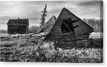 Memories Of The Past 3 Canvas Print by Bob Christopher