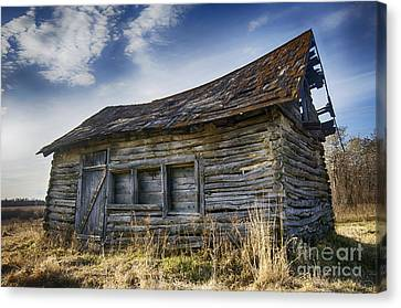 Abandoned House Canvas Print - Memories Of The Past 7 by Bob Christopher