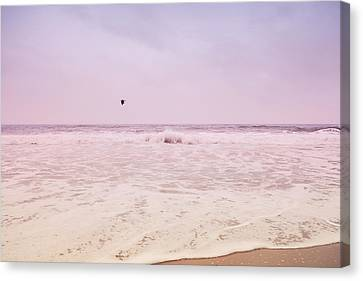 Canvas Print featuring the photograph Memories Of The Sea by Heidi Hermes
