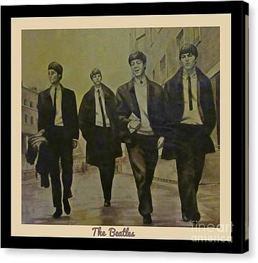 Memories Of The Sixties Canvas Print