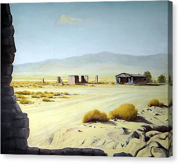 Memories Only Ballerat Calfornia Canvas Print by Evelyne Boynton Grierson