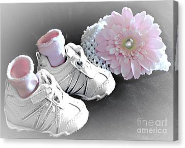 Memories - Our Little Girl Canvas Print by Sherry Hallemeier