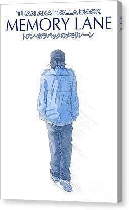Drawers Canvas Print - Memory Lane I by Tuan HollaBack