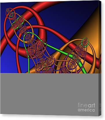 Memory Loops 137 Canvas Print by Rolf Bertram