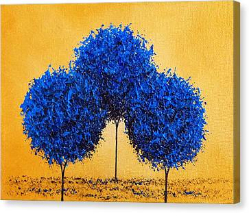 Abstract Art On Canvas Print - Memory's Child by Rachel Bingaman