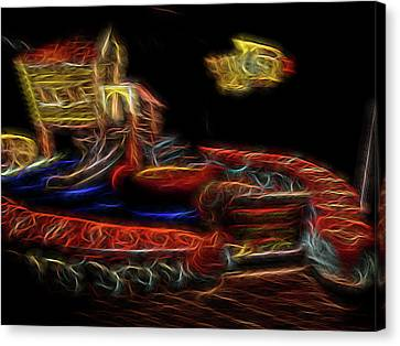Memory's Playground Canvas Print by William Horden