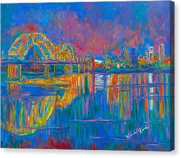 Memphis Lights Canvas Print