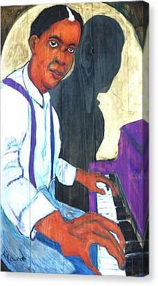 Memphis Slim Canvas Print