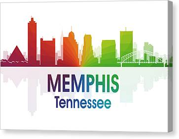 Memphis Tn Canvas Print