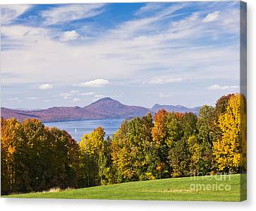 Memphremagog Autumn Canvas Print