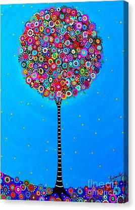 Purpose Of Life Canvas Print by Pristine Cartera Turkus