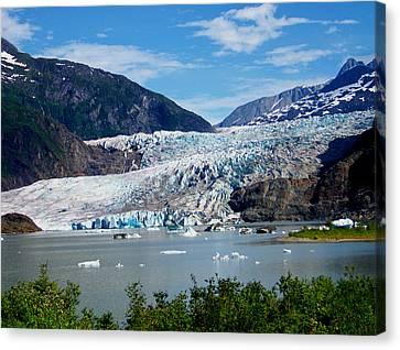 Mendenhall Glacier Canvas Print