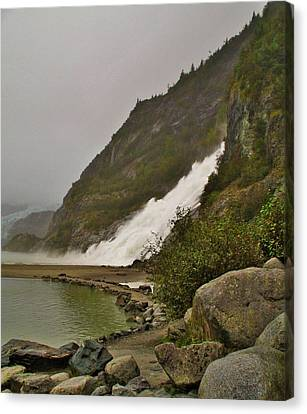 Mendenhall Glacier Park Canvas Print