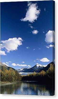 Mendenhall River Canvas Print by John Hyde - Printscapes