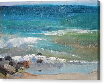 Mendocino Coast-ocean View Canvas Print