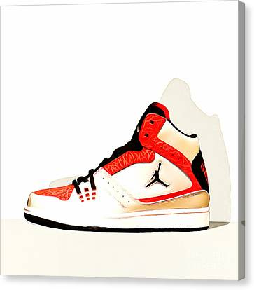 Mens Air Jordan High Tops 20160227 Square Canvas Print
