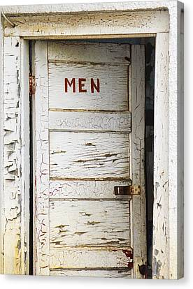 Men's Room Canvas Print by Marilyn Hunt