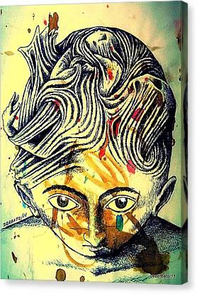 Mental Agitation Canvas Print by Paulo Zerbato