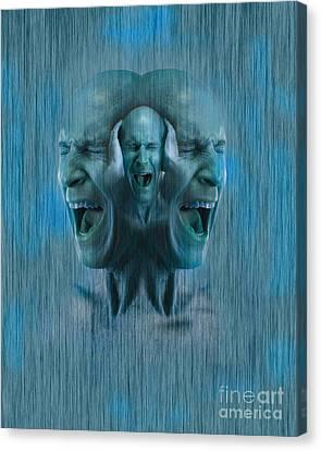 Mental Illness Canvas Print
