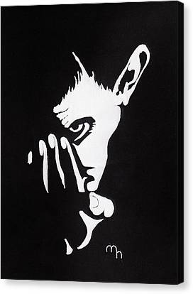 Mephisto Canvas Print by Marie Halter