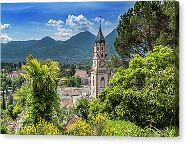 Merano Church Of St Nicholas Canvas Print