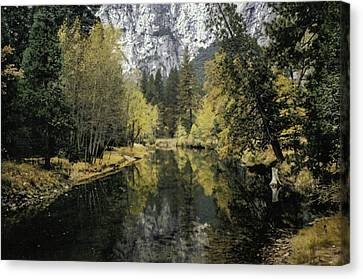 Merced River Reflection Canvas Print