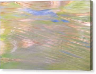 Merced River Reflections 20 Canvas Print by Larry Marshall