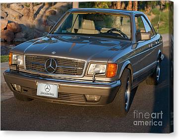 Mercedes 560sec W126 Canvas Print
