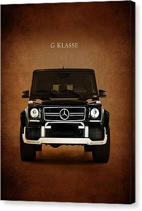 Wagon Canvas Print - Mercedes Benz G Klasse by Mark Rogan