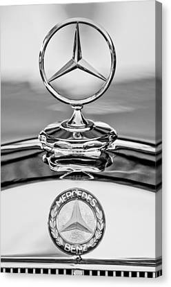 Mercedes Benz Hood Ornament 2 Canvas Print