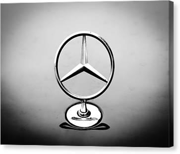 Mercedes Benz Logo Canvas Print