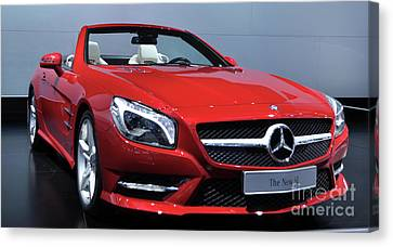 Mercedes Benz Sl Canvas Print