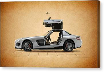 Mercedes Benz Sls Canvas Print