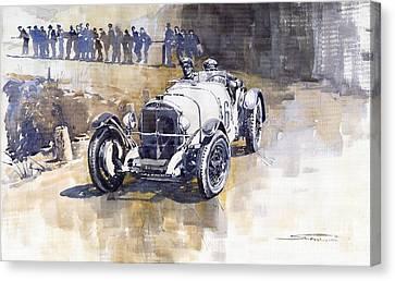 Mercedes Benz Ssk 1930 Rudolf Caracciola Canvas Print