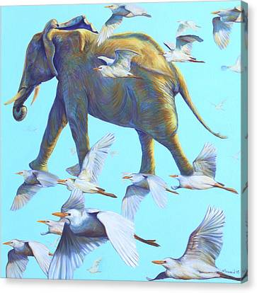 Wandering Star Canvas Print - Mercury by Sarah Soward