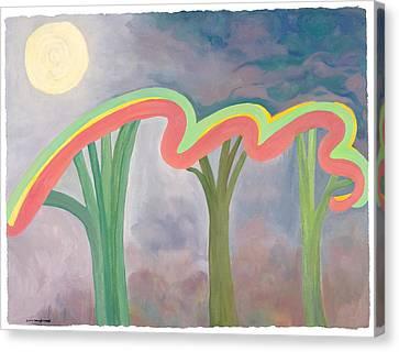Mercy Nights Canvas Print by Nancy Brockett