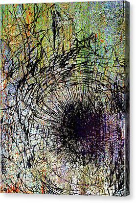 Canvas Print featuring the mixed media Mercy by Tony Rubino