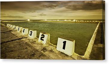 Merewether Ocean Baths Canvas Print by Kevin Chippindall
