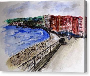 Mergelina Way Napoli Canvas Print