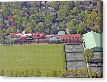 Merion Cricket Club Philadelphia Cricket Club Canvas Print by Duncan Pearson