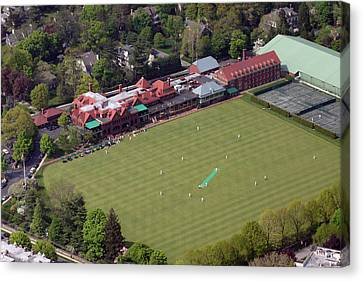 Merion Cricket Club Picf Canvas Print by Duncan Pearson