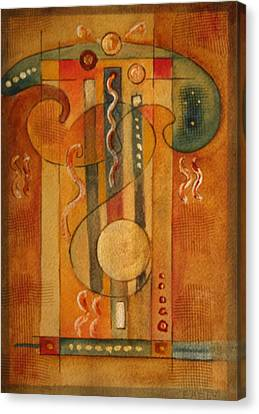 Merlin Canvas Print by Dan Earle