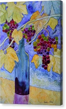 Merlot Canvas Print by Nancy Jolley