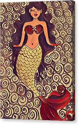 Canvas Print - Mermaid Dreams by K Daniel