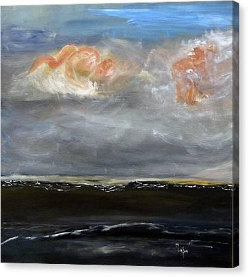 Mermaid Sky Canvas Print by Michael Helfen