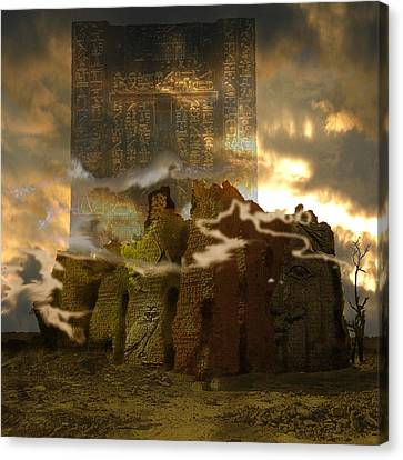 Meroe Lost Canvas Print by Amy Williams
