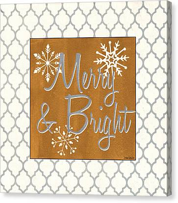 Merry And Bright Canvas Print by Debbie DeWitt