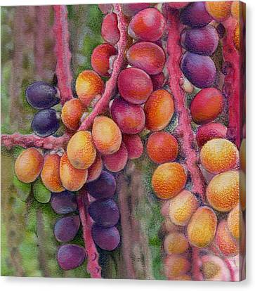 Merry Berries Canvas Print by Mindy Lighthipe