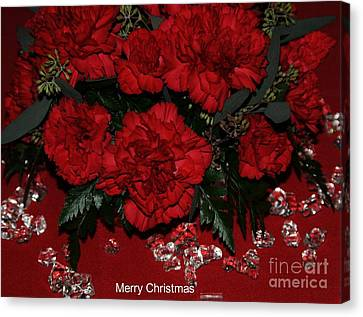 Merry Christmas Canvas Print by Kathleen Struckle